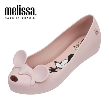 Melissa Mel Ultragirl + Minnie Mickey 2020 Melissa Shoes For Women Flat Sandals Women Jelly Shoes Adult Sandals Female Shoes