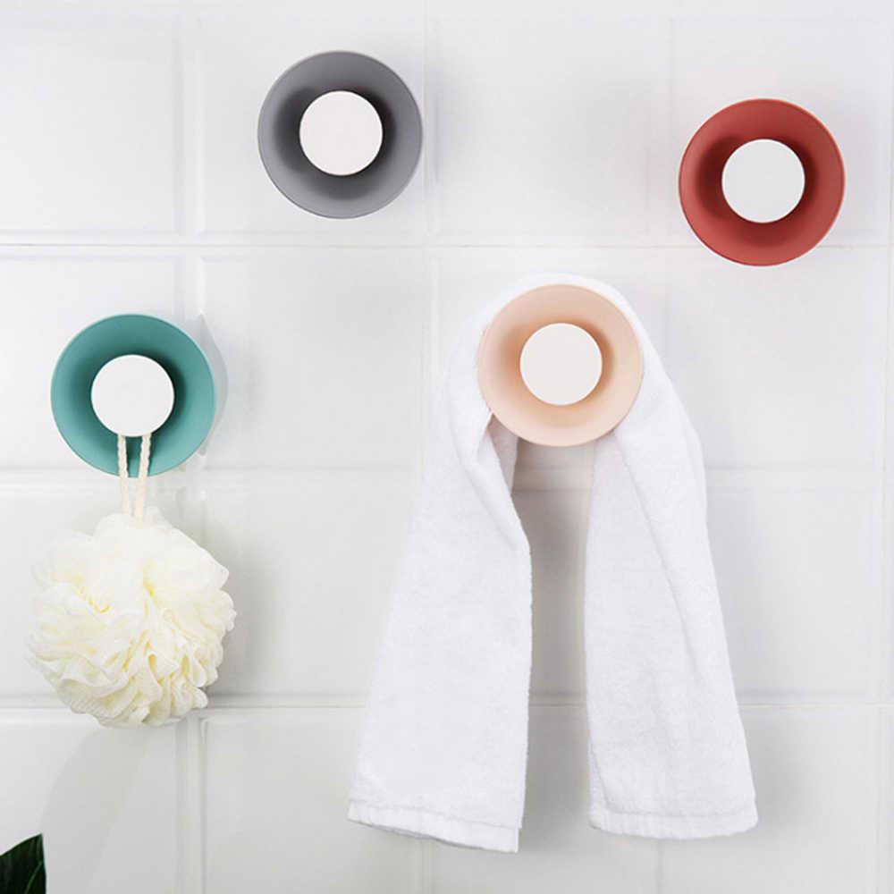starke wand saugnapf sucker haken nette mini horn design aufhänger für  küche bad punch-freies starken klebstoff haken