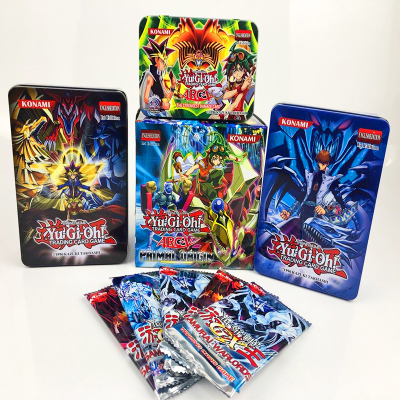 288pcs/set Anime Japan Yu Gi Oh Game Cards Carton Yugioh Game Cards Japan Boy Girls Yu-Gi-Oh Cards Collection For Fun