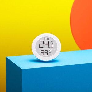Image 4 - Sensor de temperatura Youpin Cleargrass Bluetooth Hu mi, almacenamiento de datos, pantalla de tinta e link, termómetro, medidor de humedad, aplicación Mi