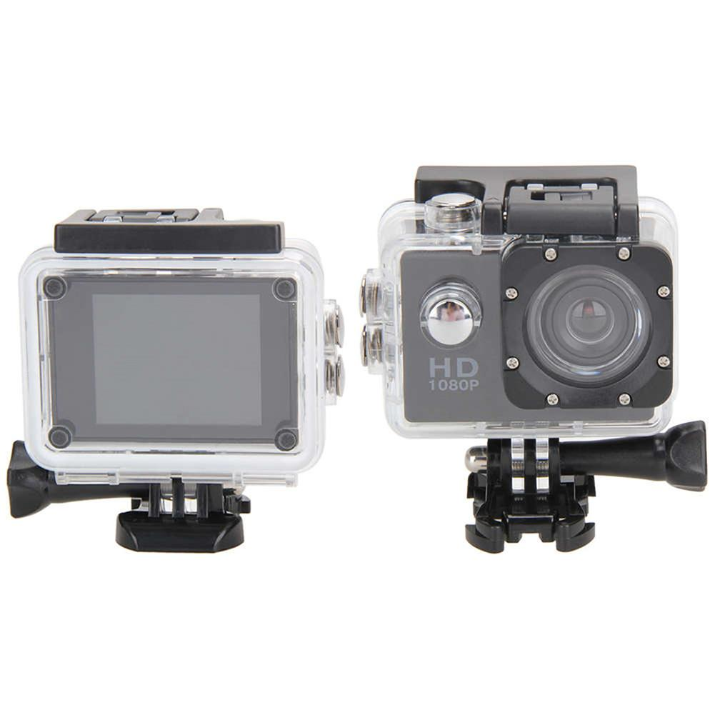 Full HD 1080P Waterproof Camera 2.0 Inch Camcorder Extreme Sports DV Go Car Cam Pro Mini Sports DV Camcorder Helmet Camcorder