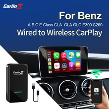 Carlinkit 2.0 carplay ativador sem fio para benz a b c cls e gla gle glc cla 220d c260 2015-2020 carplay2air adaptador usb dongle