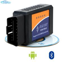 OBD2 Scanner Bluetooth ELM327 strumento diagnostico per Auto OBDII strumento diagnostico automatico ELM327 V2.1 OBD2 lettore di codice per Android