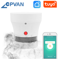 CPVAN Smoke Detector Sensor 10PCS Fire Alarm Home Security System Firefighters Tuya WiFi Smoke Alarm rookmelder Fire Protection