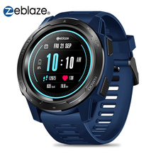 Zeblaze 바이브 5 스마트 워치 남자 1.3 컬러 스크린 보수계 피트니스 팔찌 추적기 IP67 방수 심박수 모니터 Smartwatch