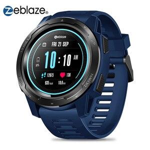 Image 1 - Zeblaze VIBE 5 Smart Watch Men 1.3 Color Screen Pedometer Fitness Bracelet Tracker IP67 Waterproof Heart Rate Monitor Smartwatch