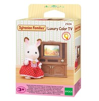 Sylvanian Families Toy Forest Luxury TV Cover GIRL'S Play House Model Room Furniture Accessories 4264
