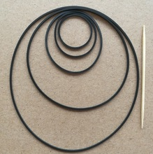 4Pieces/Lot Inner D:8mm Thickness:1mm Recorder Belts Walkman Repeater Deck Counter Belt