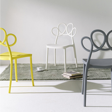 Nordic Creative PP Plastic Chairs Dining Chairs for Dining Rooms Modern Cafe Furniture Living Room Computer Kitchen Dining Chair