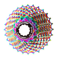 Smllow дорожный велосипед цветная кассета свободное колесо 9