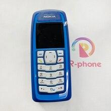 Ucuz telefon yenilenmiş Nokia 3100 cep telefonu eski telefon 2G GSM Unlocked