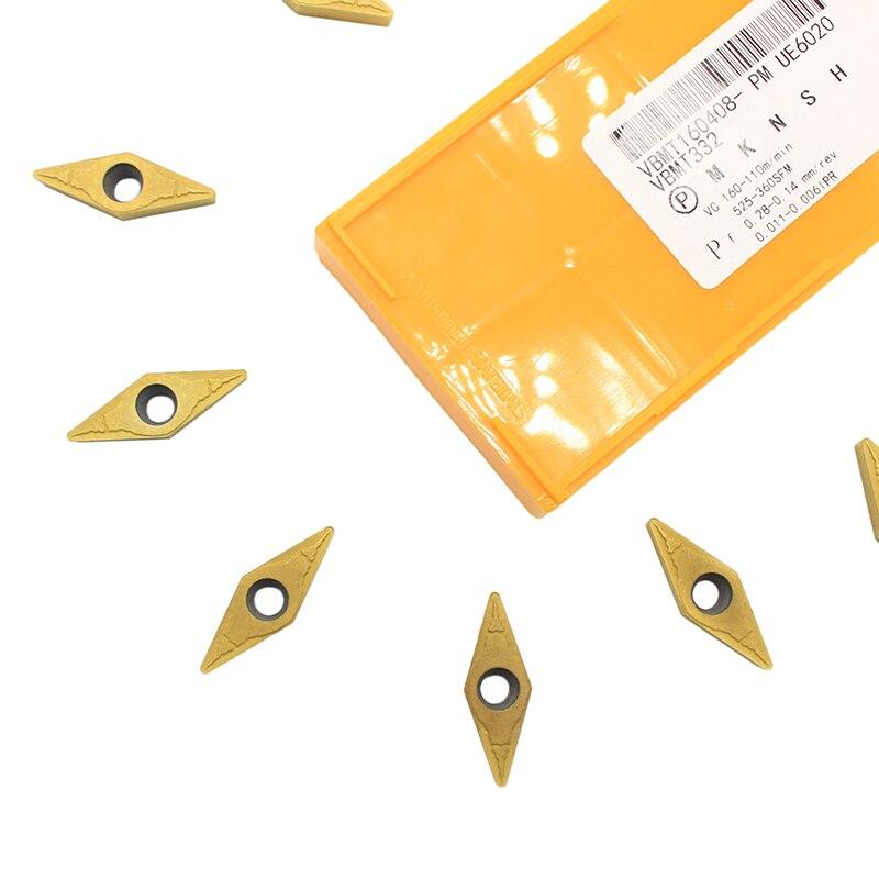 10pc NEW In Box LAMINA VBMT 160408 NN LT10 Carbide Inserts
