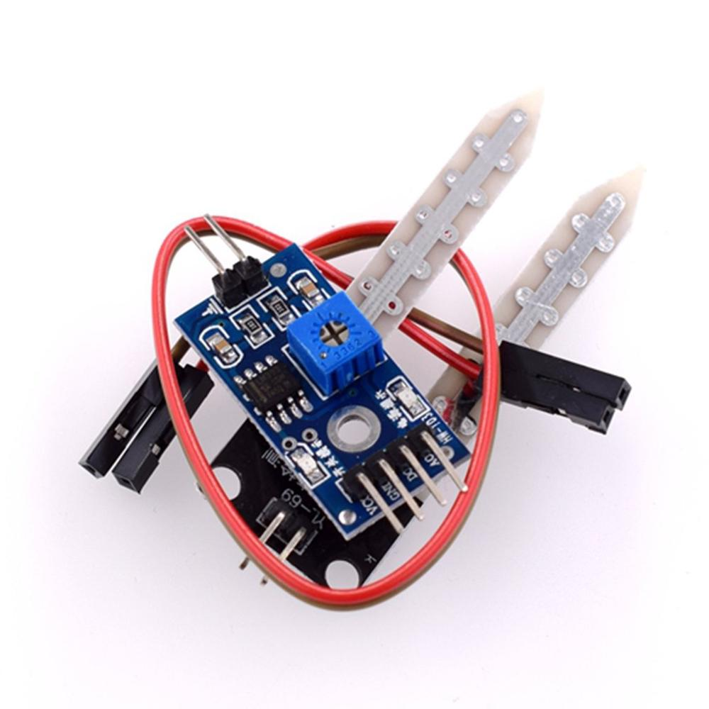 Smart Electronics Soil Moisture Hygrometer Detection Humidity Sensor Module PCB For Arduino Development Board