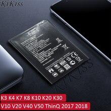 Batterie pour LG K3 K4 K7 K8 K10 K20 K30 V10 V20 V40 V50 ThinQ 2017 2018 BL 44E1F/45A1H/45B1F/45F1F/46G1F/46ZH/49JH BL T36/T37/T42
