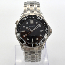 luxury Bliger 41mm mechanical watch men waterproof black dia