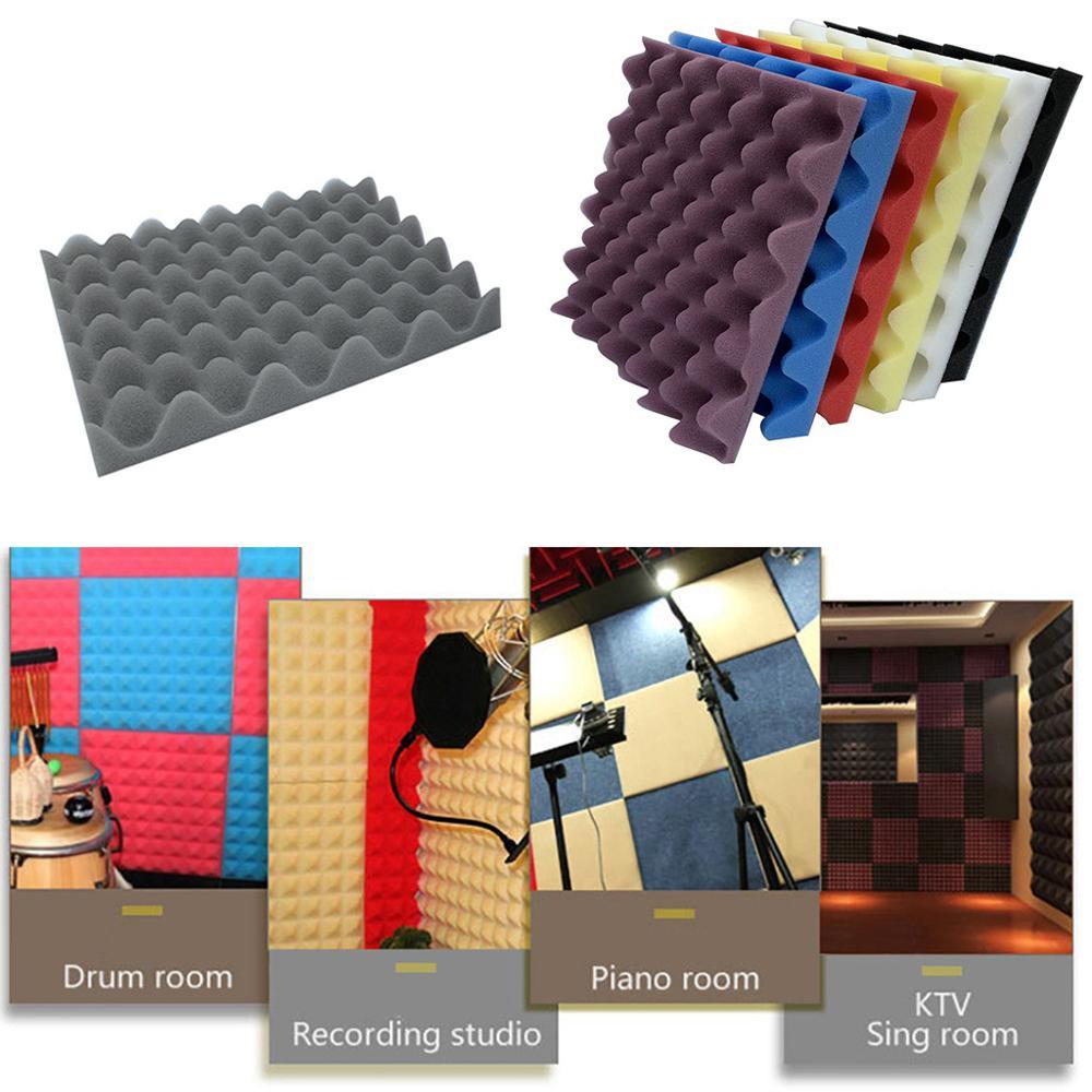Hot Sale Sealing Strips Acoustic Foam Panel Sound Stop Absorption Sponge Studio KTV Soundproof