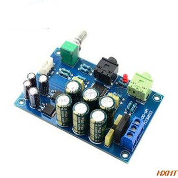 TPA6120 Headphone Amplifier Board HIFI TPA6120A2 Audiophile Headphone Amplifier Board Zero Bottom Noise Kit Finished Board himing rivals el34 aluminum tube amplifier hifi exquis headphone output bluetooth handmade scaffolding panel rhel34apb