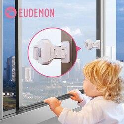 EUDEMON защита безопасности младенцев, окно безопасности, замок безопасности ребенка, оконный ограничитель для защиты детей на Windows