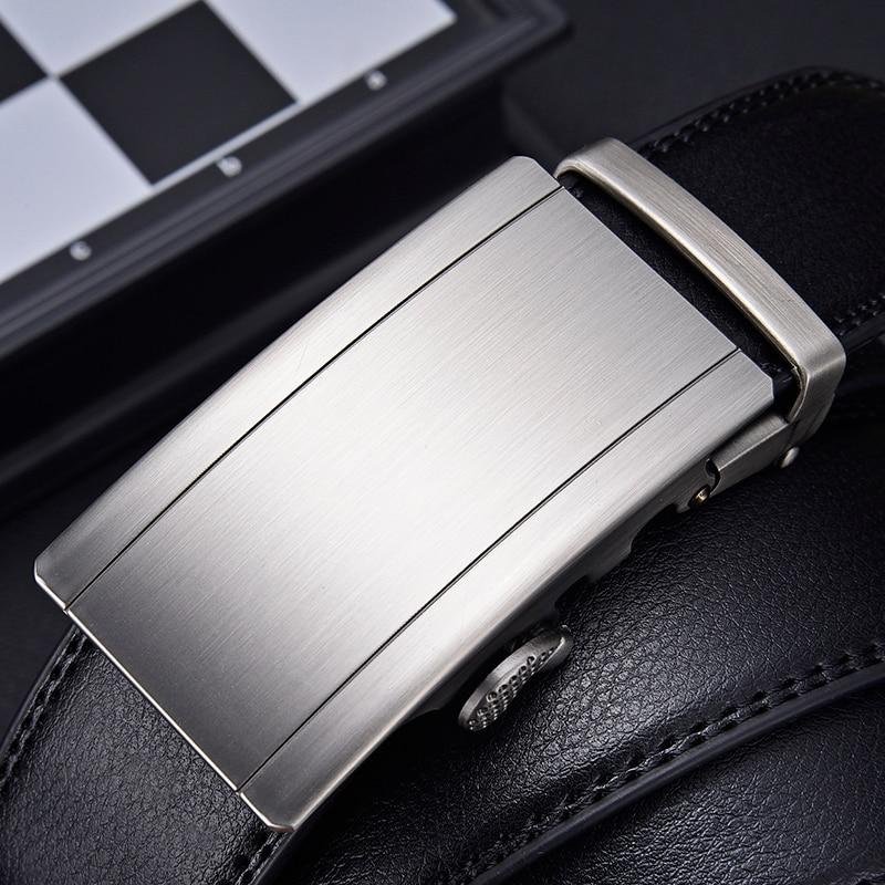 [LFMB]Men Belt Genuine Leather Automatic Men Belt Luxury Strap Belt for Men Designer Belts Men High Quality Fashion Belt