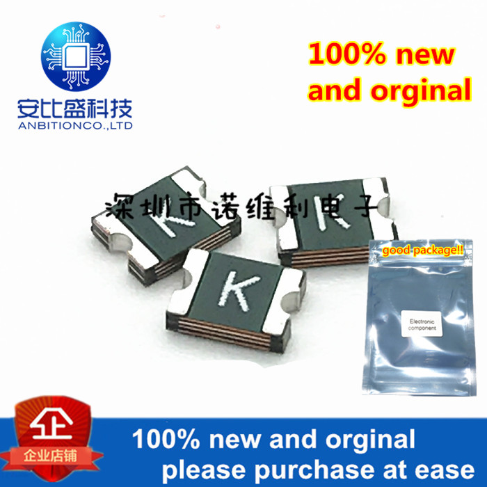 10pcs 100% New And Orginal Patch Self-recovery Fuse PPTC 1210L150TH 1.5A Silk-screen K In Stock