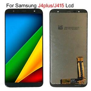 Image 1 - 20pcs/lot lcd For Samsung Galaxy J4+ J415 SM J415F J415FN LCD display Touch Screen Assembly for Samsung J4 plus J415 lcd screen