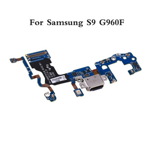Image 2 - 10 adet/grup Samsung Galaxy S9 G960F g960u S9 + artı G965F g965u USB şarj şarj portu dock konektör esnek kablo değiştirme