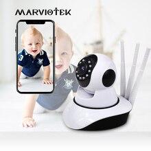 เด็กจอภาพWifi IPกล้องWifi Home Securityวิทยุวิดีโอพี่เลี้ยงเด็กกล้องสองทางเสียงNight Vision P2pเด็กโทรศัพท์Wifi