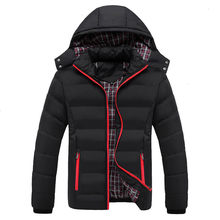 Quality High 90% Cotton Thick Down Jacket Men Coat Snow Parkas Coat Male Warm Brand Clothing Winter Down Jackets Outerwear(China)