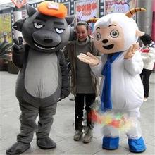 Костюм талисман «Милая Коза и большой волк» новинка платье для