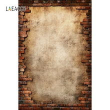 Laeacco Old  Brick Tearing Wall Portrait Grunge Doll Photography Backgrounds Customized Photographic Backdrops For Photo Studio