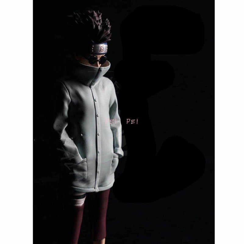 Anime Naruto Shippuden Aburame Shino PVC Figure Model Statue New Loose 23cm