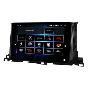 """Image 4 - 10.1 """"unità principale Stereo per autoradio Android 10 1280*800 navigazione GPS Carplay 4G per lettore multimediale Toyota Highlander 2014 2018"""