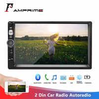 "AMPrime 2 Din Auto Radio Autoradio 7 ""Multimedia Player Auto Stereo Mirrorlink 2din Kassette Recorder In-Dash Audioradio stereo"