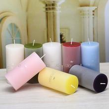 HOT 1 szt Świece zapachowe ręcznie zrobiona świeca prezenty ślubne wosk kolumnowy tanie tanio CN (pochodzenie) Aromaterapia Filar Ogólne świeca Pachnące Parafina