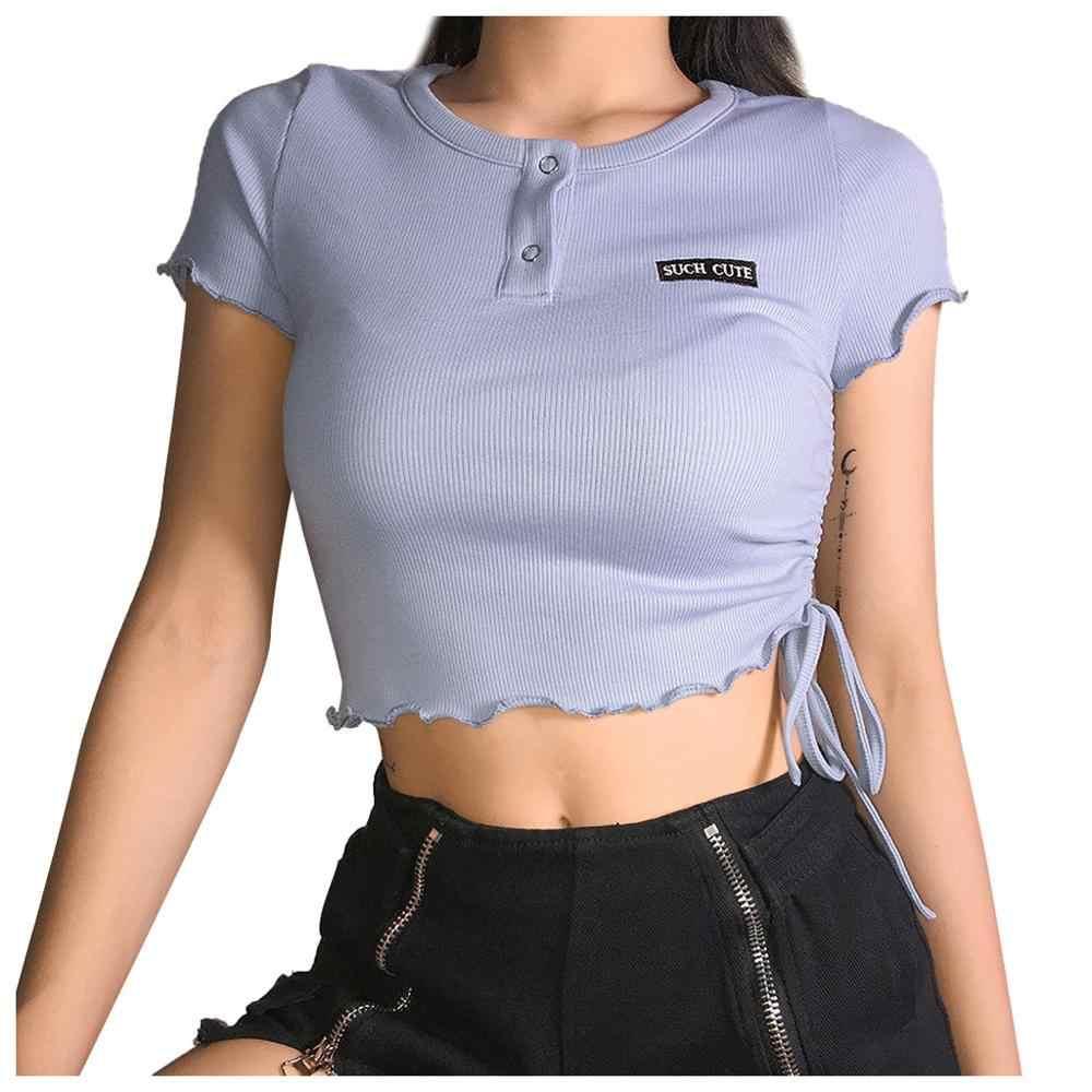 לבן יבול למעלה נשים סיני סגנון גופיות הדרקון הדפסת נקבה T חולצה מקרית חולצות Streetwear Croptop ropa mujer 2020