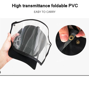 Image 3 - Anti Droplet Baseball Cap Hat With Removable Mask For Outdoor Anti Dust Face Shield Full Protective Mask