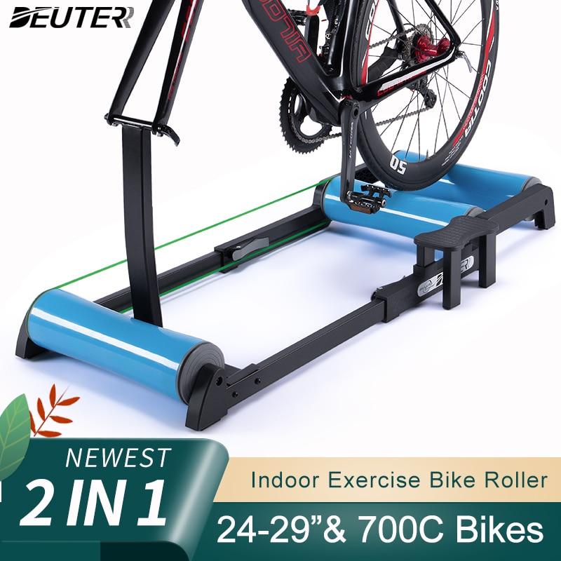 Rolo de bicicleta interior casa trainer montanha estrada bicicleta rolo estacionário bicicleta carrinho exercício para 24-29