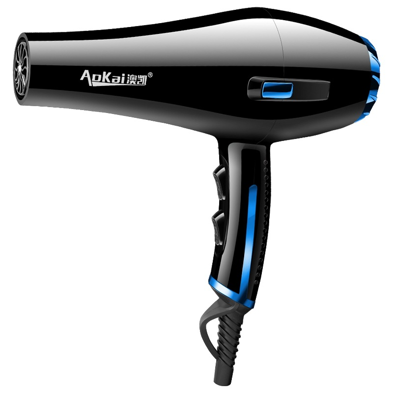 ITAS1276 Professional Hairdresser High-power Hair Dryer Barber Shop Negative Ion Hair Blower Wholesale Gloden Purple Blue