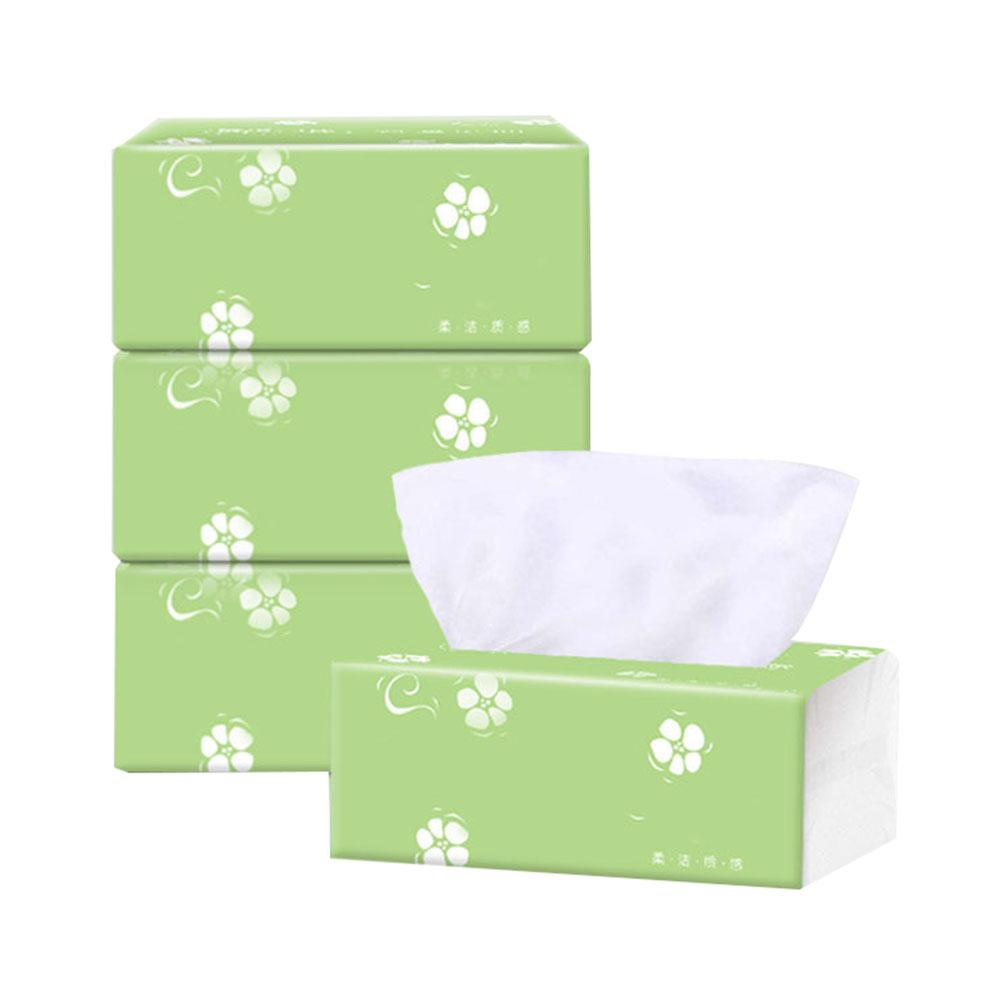 3 Packs 3-layer Home Disposable Soft Dinner Napkin Paper Baby Facial Tissues Table Tissu Napkin