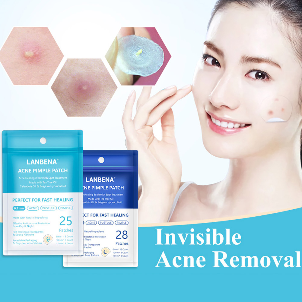 Tea Tree Skin Patch Acne Pimple Patch Reduce Invisible Stickers for Skin Care OR88 skin tag and acne patch