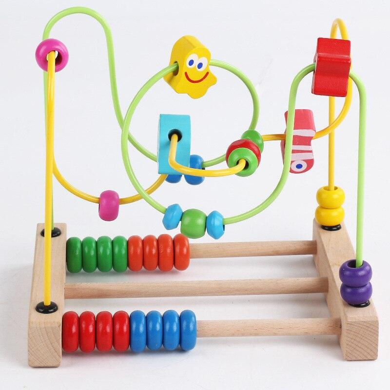 Children Oceans Bead-stringing Toy Beaded Bracelet Building Blocks Educational Toy Montessori Early Childhood Infants Bead-strin