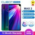 Cubot Max 2 Android 9.0 19:9 4GB 64GB MT6762 Octa Core Smartphone 6.8'' Waterdrop 5000mAh Dual Rear Cameras 6P Lens 4G LTE Phone