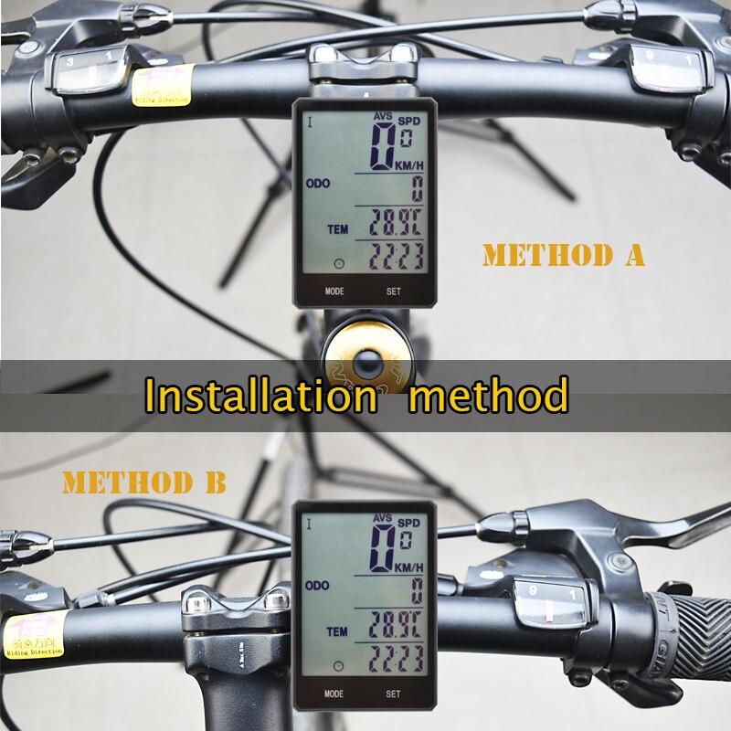 Велосипедный компьютер беспроводной Велосипедный компьютер велосипедный Спидометр Водонепроницаемый велосипедный одометр