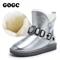 GOGC boots women fur boots women boots winter womens boots woman shoes winter Snow Boots shoes for winter women ankle boots 9926