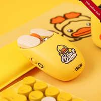 LOFREE/Lofie Little Yellow Duck MAUS Mouse Bluetooth Sem Fio Jogo Home Office Rato Bonito, EP115