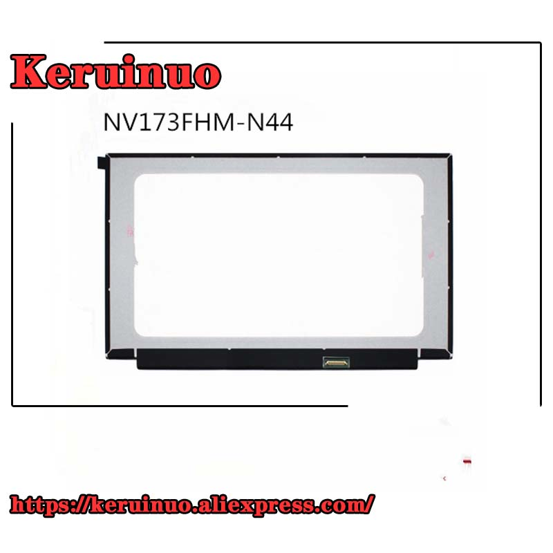 17.3''72% COLOR Laptop lcd screen NV173FHM N44 FIT B173HAN04.0 B173HAN04.4 N173HCE G33|Battery Accessories| |  - title=