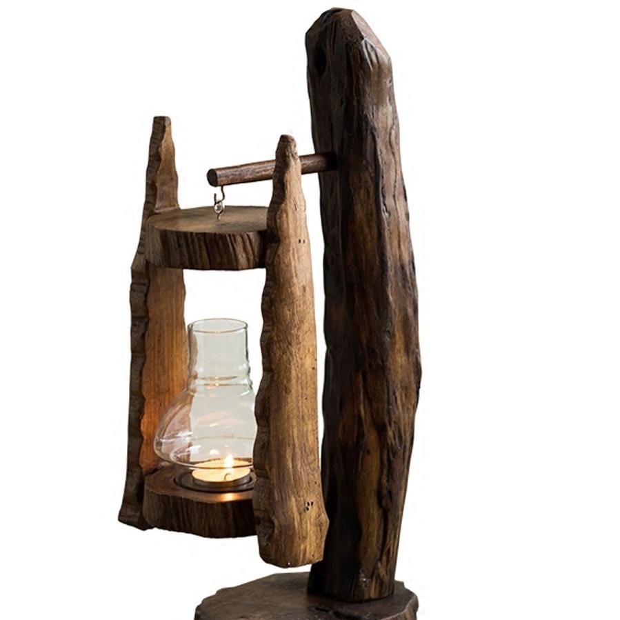Outdoor Glamour Candle Holder Table Retro Lantern Candlestick Romantic Vintage Luxury Centro De Mesa Candle Holder Table BA60ZT