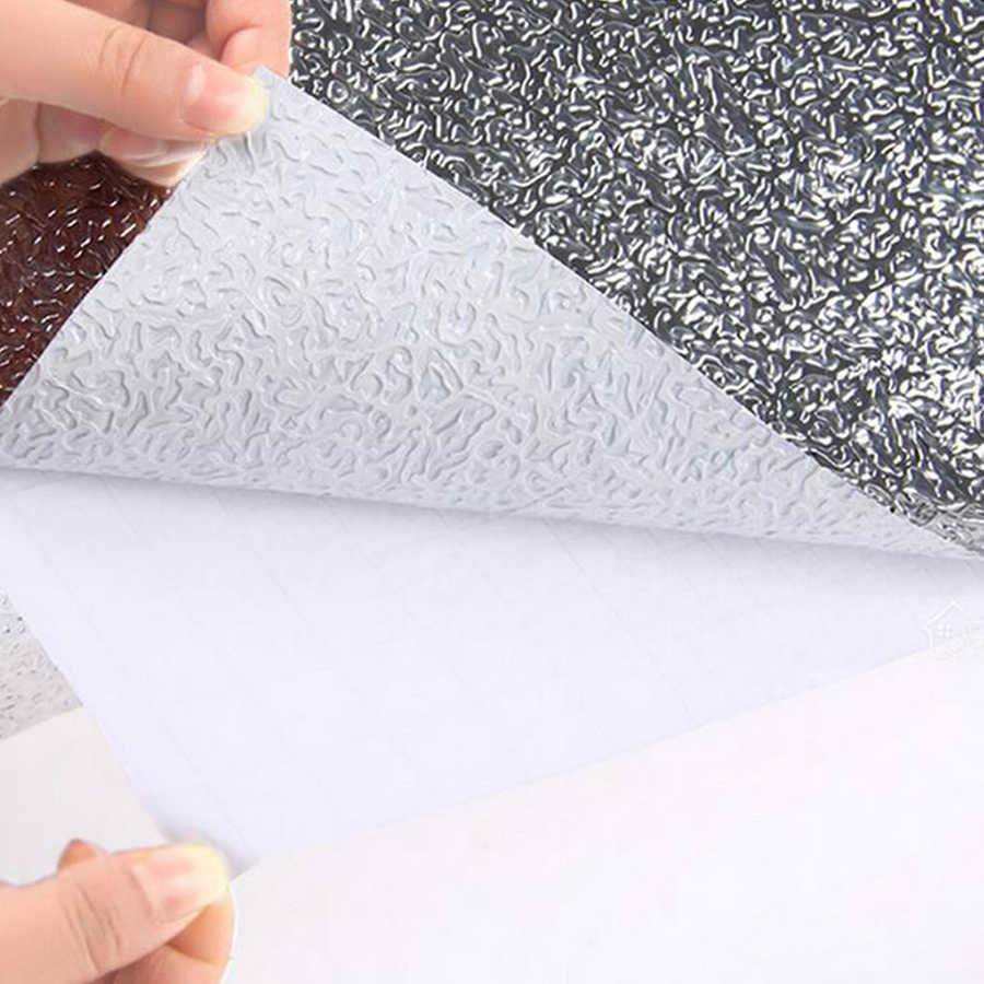 Самоклеящаяся настенная бумага из ПВХ для кухонных стен, маслостойкая водостойкая шелковая и клейкая контактная бумага, домашний декор, съемные настенные росписи