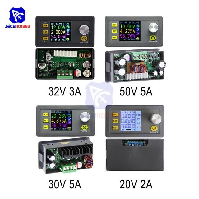 Diymore módulo de fuente de alimentación, convertidor Buck ajustable y Digital, DPS5005/DPS3005/DPS3003/DP50V5A/DP20V2A