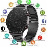 Reloj inteligente deportivo para hombre, pulsera con monitor de ritmo cardíaco, bluetooth, llamadas, TWS, música, para samsung, huawei GT 2, 2021
